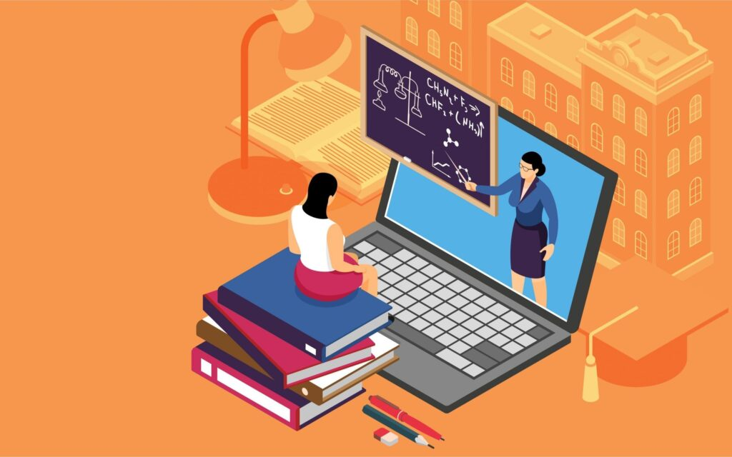 Online learning challenges